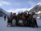 冰原&傑士伯國家公園:團員合影
