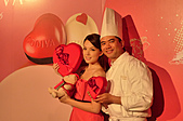 GODIVA 2011情人節愛的二重奏:許瑋甯&巧克力大使王師傅
