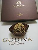 GODIVA2013情人節巧克力:蜜糖杏仁松露巧克力