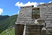 Machu-Picchu馬丘比丘:皇家住所區景致