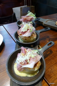 Osteria by Angie精緻義大利料理:帕瑪火腿烤洋蔥起士堡