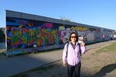 Bundesrepublik Deutschland德國之旅─柏林、波莰坦、德勒斯登:與柏林圍牆合影