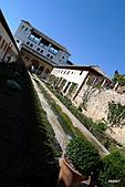 西班牙之旅─風車群、格蘭納達、哥多華、塞維亞:阿爾罕布拉宮噴泉景觀
