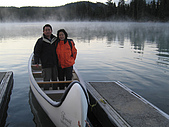 冰原&傑士伯國家公園:美綠湖的晨曦