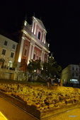 SLOVENIA斯洛凡尼亞POSTOJNSKA JAMA及GRAD古堡:聖方濟教堂