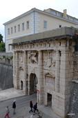 CROATIA克羅埃西亞﹝中﹞:古代陸運城門