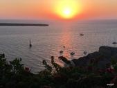 希臘一聖托里尼風情:伊亞夕陽