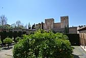 西班牙之旅─風車群、格蘭納達、哥多華、塞維亞:阿爾罕布拉宮
