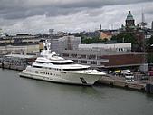 芬蘭之旅:芬蘭赫爾新基港口景色