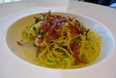 精緻商業套餐:聖丹尼爾火腿義大利麵