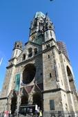 Bundesrepublik Deutschland德國之旅─柏林、波莰坦、德勒斯登:威廉一世紀念教堂遺跡