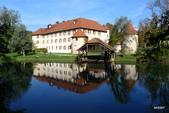 SLOVENIA斯洛凡尼亞POSTOJNSKA JAMA及GRAD古堡:新天鵝古堡景致