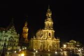 Bundesrepublik Deutschland德國之旅─柏林、波莰坦、德勒斯登:教堂區夜間景致