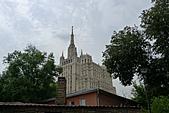 俄羅斯─莫斯科之旅:餐廳外部景色
