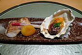 带金利明Toshiaki Obigane懷石料理:烤生蠔&紅喉