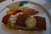 精緻商業套餐:碳烤石斑襯香料墨魚及時蔬