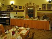 捷克﹝克倫羅夫﹞之旅:旅店餐廳