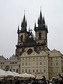 捷克之旅:古城廣場