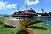 夏威夷─歐湖島:碼頭風景