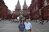 俄羅斯─莫斯科之旅:復活門景色