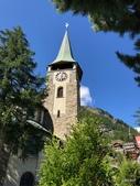 瑞士策馬特小鎮之旅:聖摩里⻄斯教區教堂(Pfarrkirche St. Mauritius)