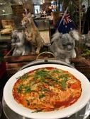 味蕾澳遊:蔬菜千層麵、奶油蕃茄醬、芝麻葉