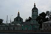 俄羅斯─莫斯科之旅:莫斯科河岸邊景色