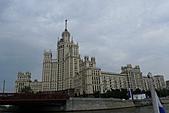 俄羅斯─莫斯科之旅:莫斯科河岸邊景色﹝列寧蛋糕﹞
