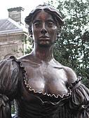 愛爾蘭之旅!:馬龍賣花女雕像