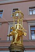 俄羅斯─莫斯科之旅:老阿爾巴特街雕塑