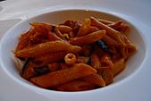 精緻商業套餐:茄子起士筆管麵佐鮮茄醬汁