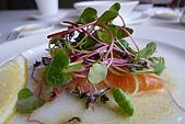 商業午餐:醃鮭魚沙拉