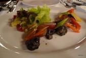 法式淡菜鍋&油封鴨腿:葡萄田螺蔬果沙拉