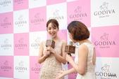 GODIVA2016微風南京店開幕猴年情人節巧克力巧傳心:侯佩岑接受採訪
