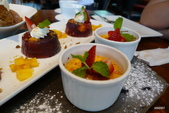 Osteria by Angie精緻義大利料理:草莓烤布蕾