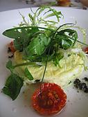 君悅寶艾早午餐:菠菜及蛋白烘蛋佐松露汁