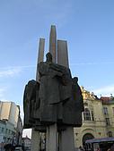 斯洛伐克之旅:詩人作家路德雕像