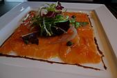 精緻商業套餐:生鮭魚薄片襯芳香生菜及焦糖紅洋蔥