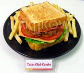 食品模型/西洋風味篇:德州三明治