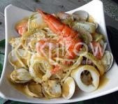 食品模型/西洋風味篇:南瓜海鮮義大利麵