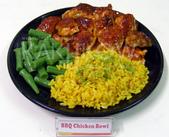 食品模型/西洋風味篇:烤雞飯