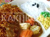 食品模型/西洋風味篇:咖哩豬排飯