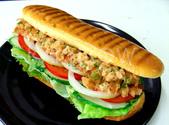 食品模型/西洋風味篇:食品模型/義式帕尼尼鮪魚堡