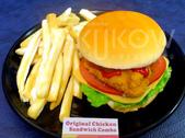 食品模型/西洋風味篇:炸雞堡