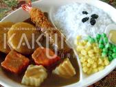 食品模型/西洋風味篇:咖哩炸蝦飯