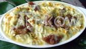 食品模型/西洋風味篇:奶油牛肉焗烤螺旋麵