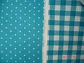 日本進口棉麻布:雙面天空藍