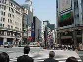 2009/4/30 日本東京自由行:銀座三越百貨前