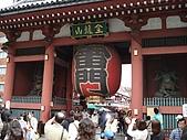 2009/5/3 日本東京自由行:浅草寺-雷門