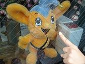 2009/5/3 日本東京自由行:浅草寺-雷門前交番內的玩偶